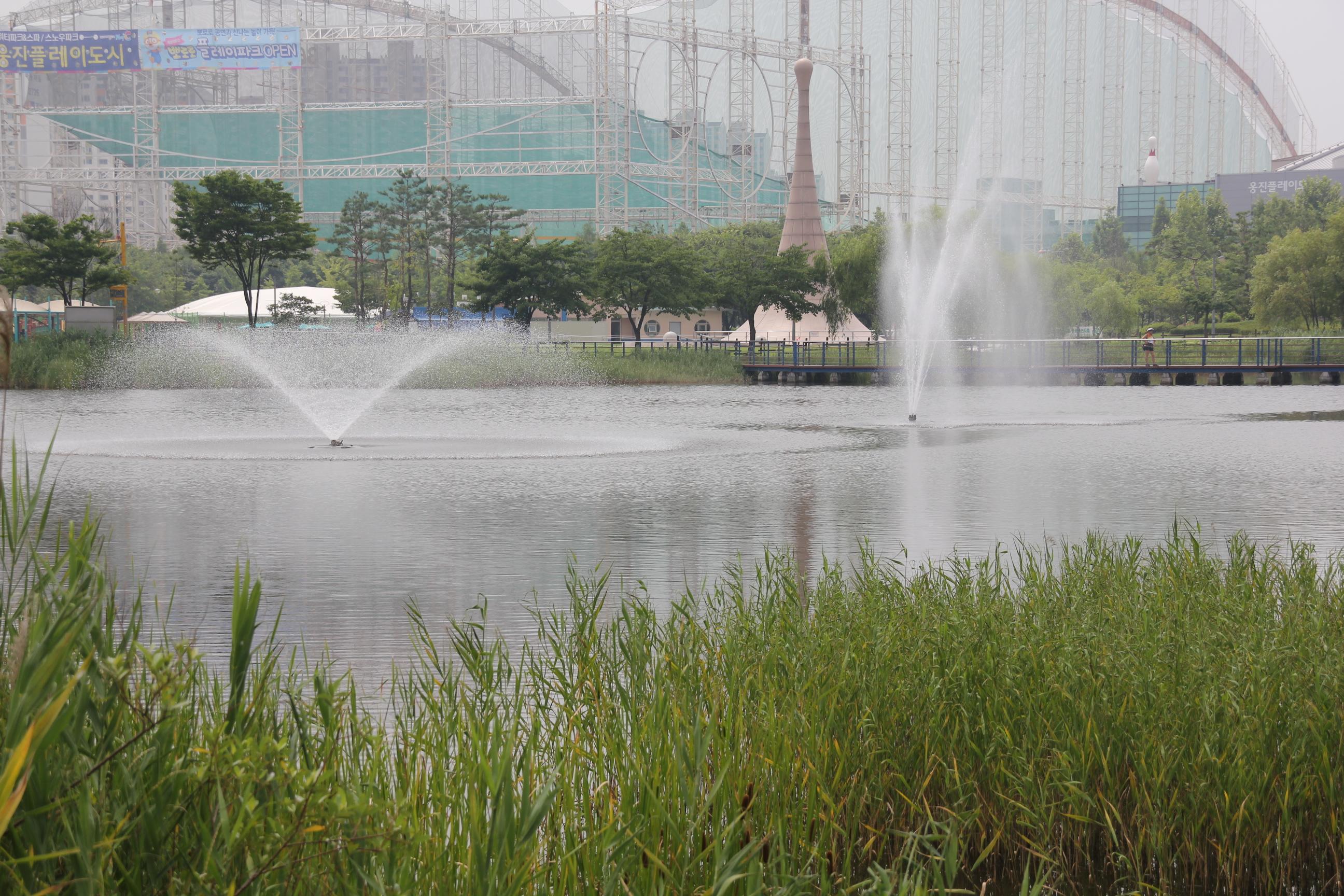 상동호수공원 호수