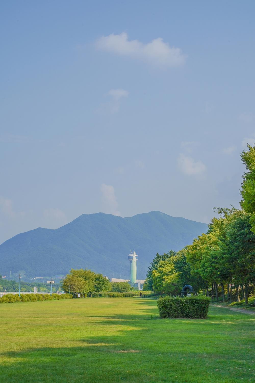 하남 미사경정공원 정원 풍경
