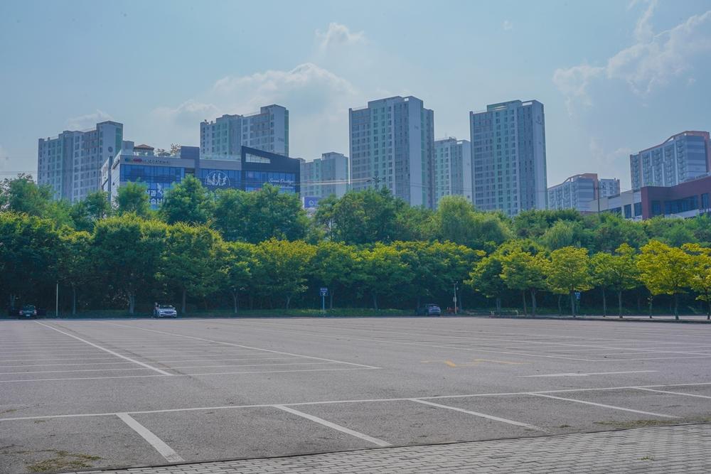 하남 미사경정공원 주차장